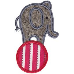 Little Elephant Applique 20