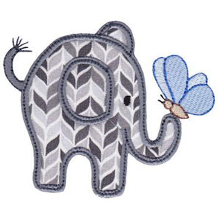 Little Elephant Applique 5