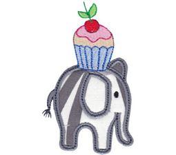Little Elephant Applique 7