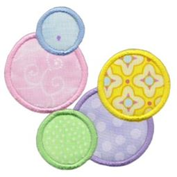 Lots Of Dots Applique 10