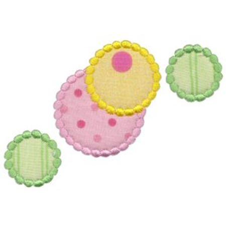 Lots Of Dots Applique 7