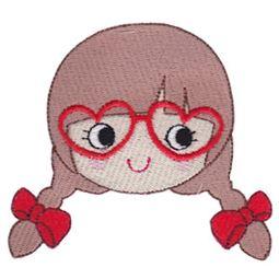 Heart Glasses Girl