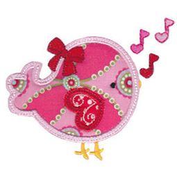 Applique Love Bird