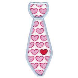 Filled Stitch Love Tie