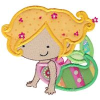 Magical Mermaids Applique 1