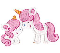 Magical Unicorns Applique 1