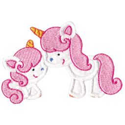 Magical Unicorns Applique 1