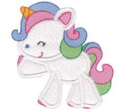 Magical Unicorns Applique 11
