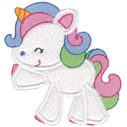 Magical Unicorns Applique 11