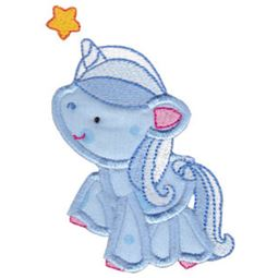 Magical Unicorns Applique 6