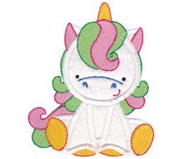 Magical Unicorns Applique 8