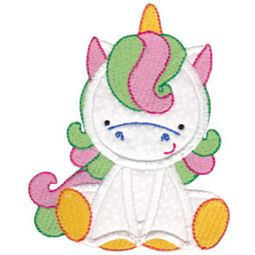 Magical Unicorns Applique 8