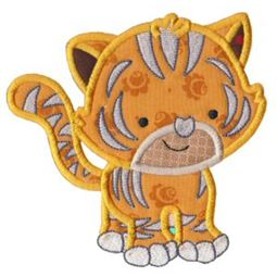 Mighty Jungle Animals Applique 10