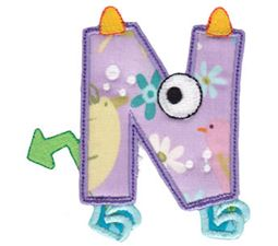 Monster Mash Alpha Applique 14