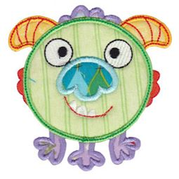 Monster Mash Alpha Applique 15