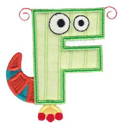 Monster Mash Alpha Applique 6