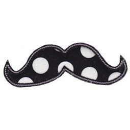 Moustache Applique 1