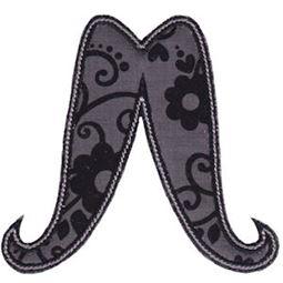 Moustache Applique 8