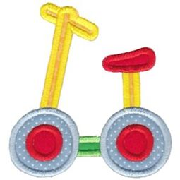 Scooter Applique