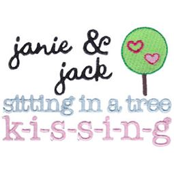 Janie And Jack Sitting In A Tree