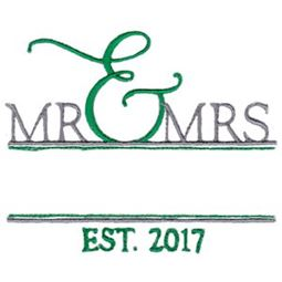 Split Mr and Mrs Est 2017