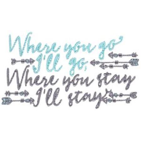 Where You Go I'll Go