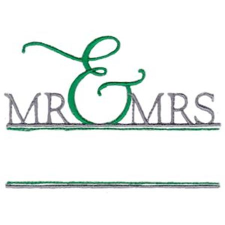 Split Mr and Mrs