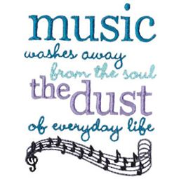 Music Washes Away The Dust