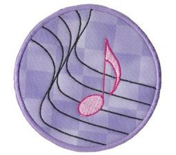 Musical Applique 10