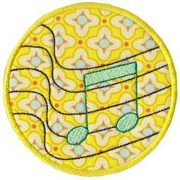 Musical Applique 11