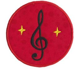Musical Applique 14