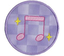 Musical Applique 15