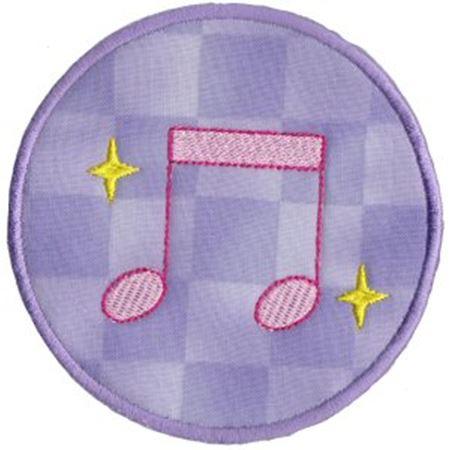 Musical Applique 15