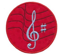 Musical Applique 9