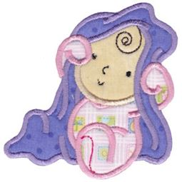 Peek A Boo Baby Applique