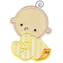 Cute Baby Applique