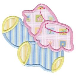 Baby Socks Applique