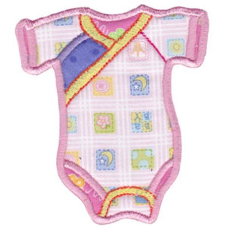 Girls Romper Applique