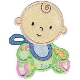 Baby and Bib Applique