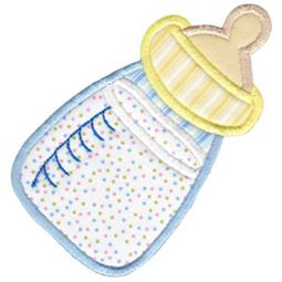 Baby Bottle Applique