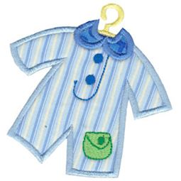 Boys Romper Applique