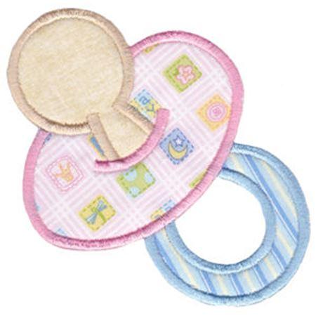 Baby Pacifier Applique