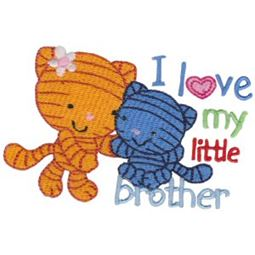 I Love My Little Brother Cats