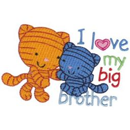 I Love My Big Brother Cats