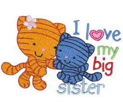 I Love My Big Sister Cats