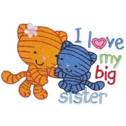 I Love My Big Sister Cats