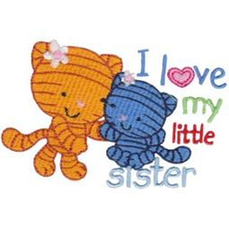 I Love My Little Sister Cats