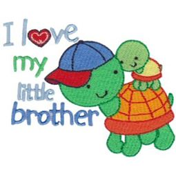 I Love My Little Brother Turtles