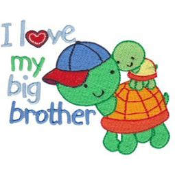 I Love My Big Brother Turtles