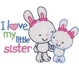 I Love My Little Sister Bunnies